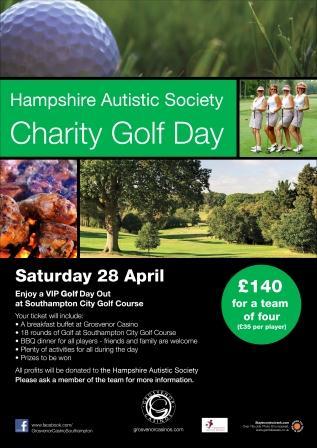 Grosvenor Casino Hampshire Autistic Society