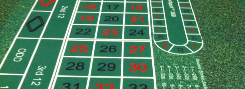 roulette casino hire