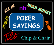 pokersayings