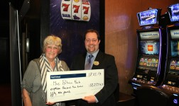 UK'S BIGGEST JACKPOT WIN AT ASPERS CASINO