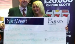 Jackpot winners scoop £70,000 at The Casino MK – The Home of The Big Win