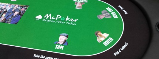 Mc Poker Charity Poker Table