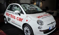 The Casino MK will give away a brand new Fiat 500 this Christmas