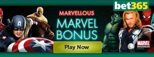 100% Bonus Marvellous Marvel Bonus Slot Game