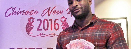 Customers cash-in celebrating Chinese New Year