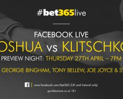 Anthony Joshua & Vladamir Klitschko The Biggest Fight  In London