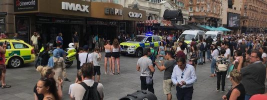 Empire Casino stabbing: Man fighting for life after being knifed in London's busy Leicester Square | London Evening Standard
