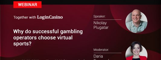 Webinar by Slotegrator and Login Casin Why do successful gambling operators Choose Virtual Sports