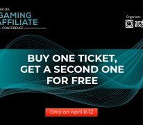 Buy One Ticket, Get a Second One for Free: Prague iGaming Affiliate Conference Sale