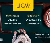 Updating of Ukrainian Gaming Week format! UGW Expert Conference Will Be Held in February, and Large-Scale Ukrainian Gaming Week Gambling Exhibition To Take Place in March